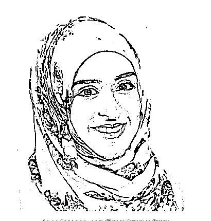 Cartoon Protrait Sarah Athai