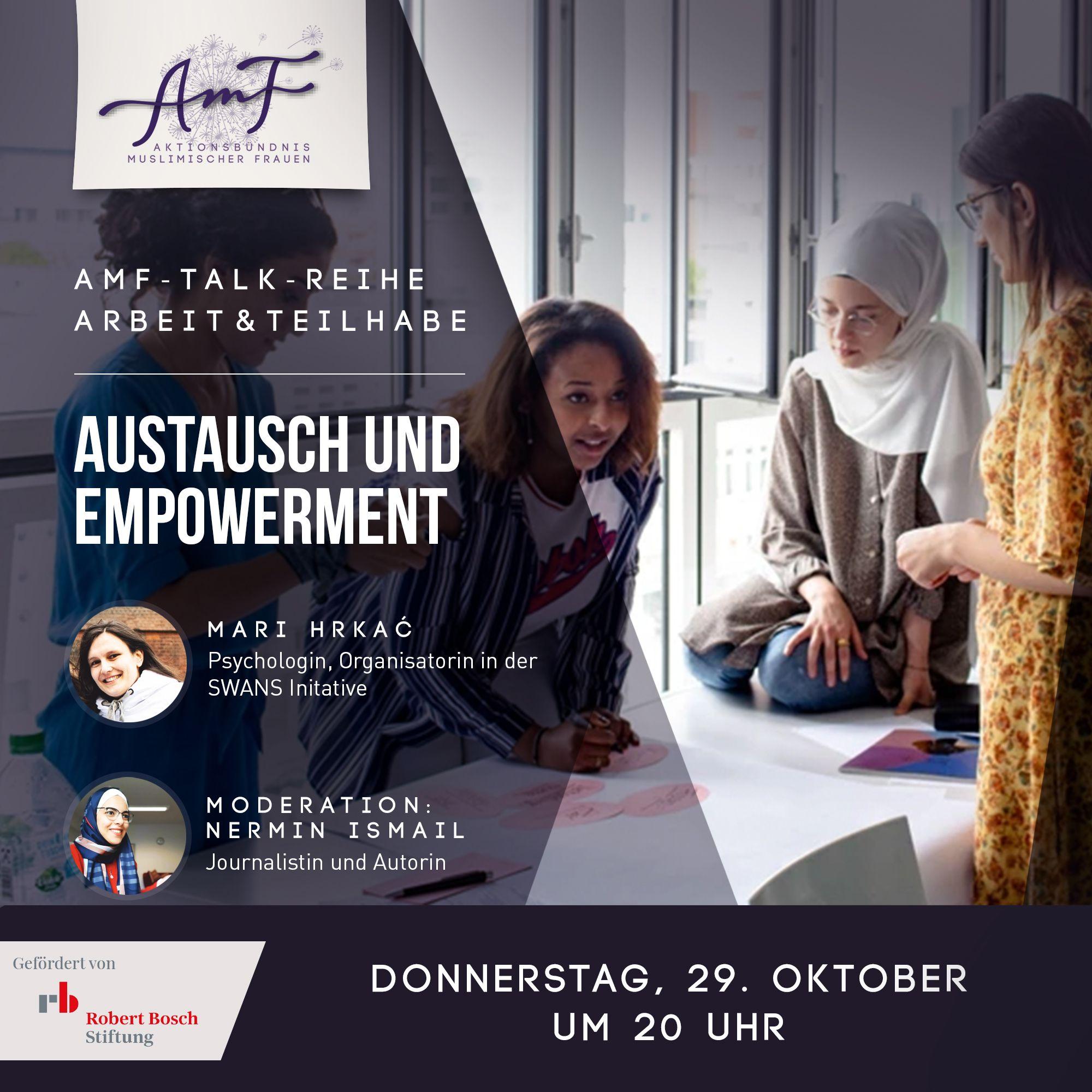 Arbeit und Teilhabe 3 – Austausch und Empowerment
