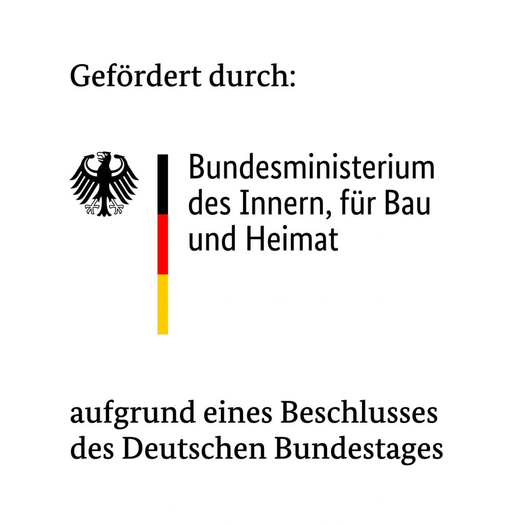 gefördert durch das BMI augreund eines Beschlusses des Deutschen Bundestags
