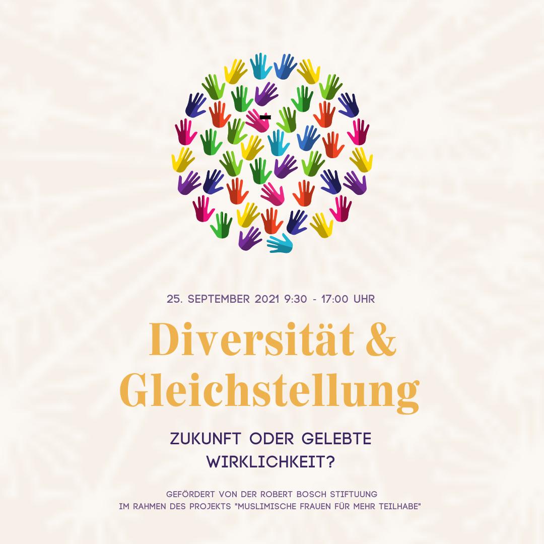 Save the Date Tagung Diversität und Gleichstellung