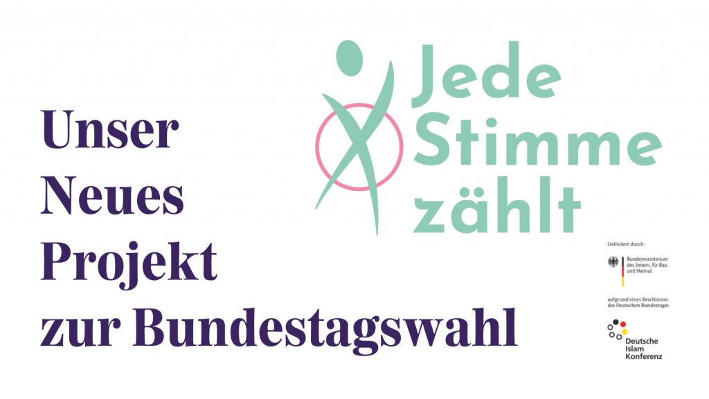 Unser neues Projekt zur Bundestagwahl: Jedes Stimme zählt