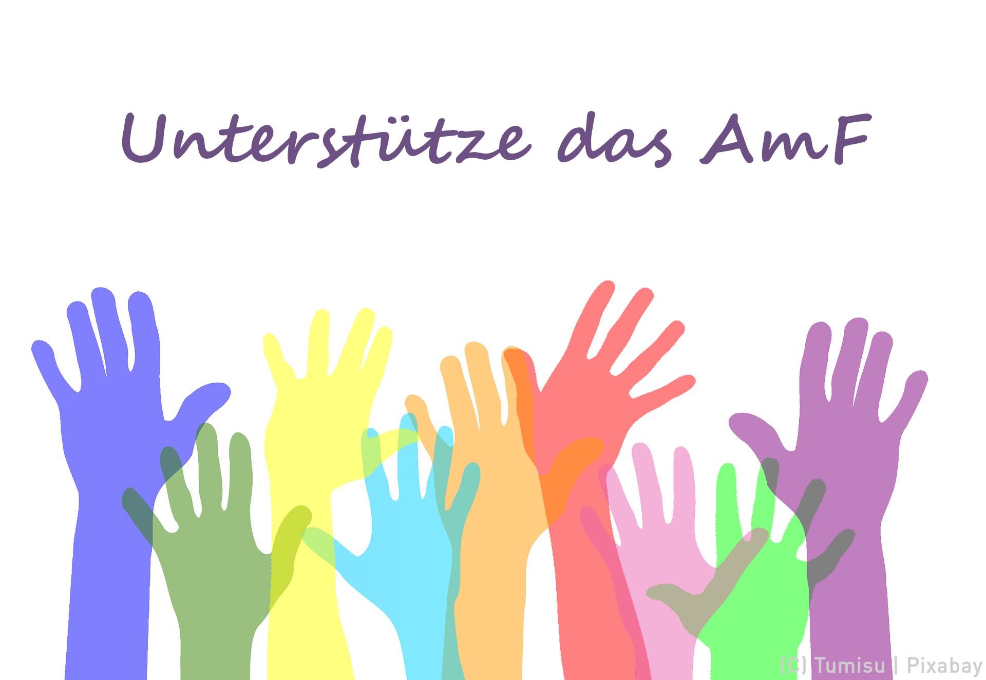 Unterstütze das AmF