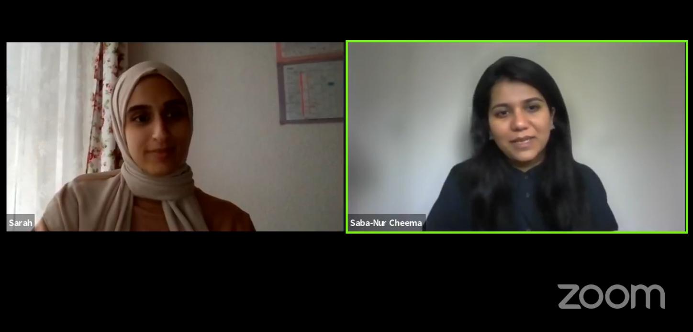 Live-Talk mit Saba-Nur Cheema zu Antimuslimischem Rassismus