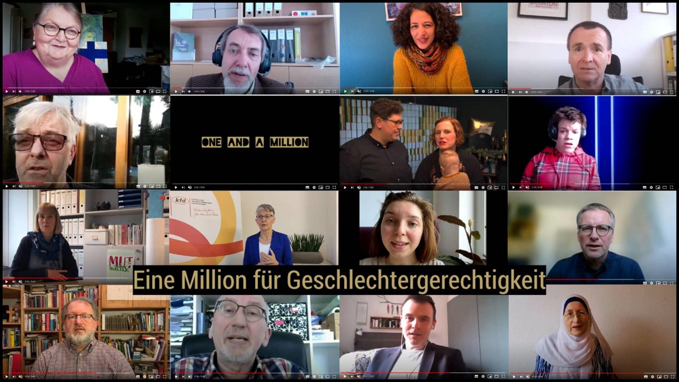 Eine Million für die Geschlechtergerechtigkeit