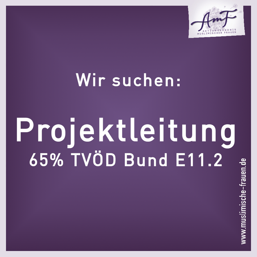 Projektleitung (TVÖD Bund E11.2 65%)